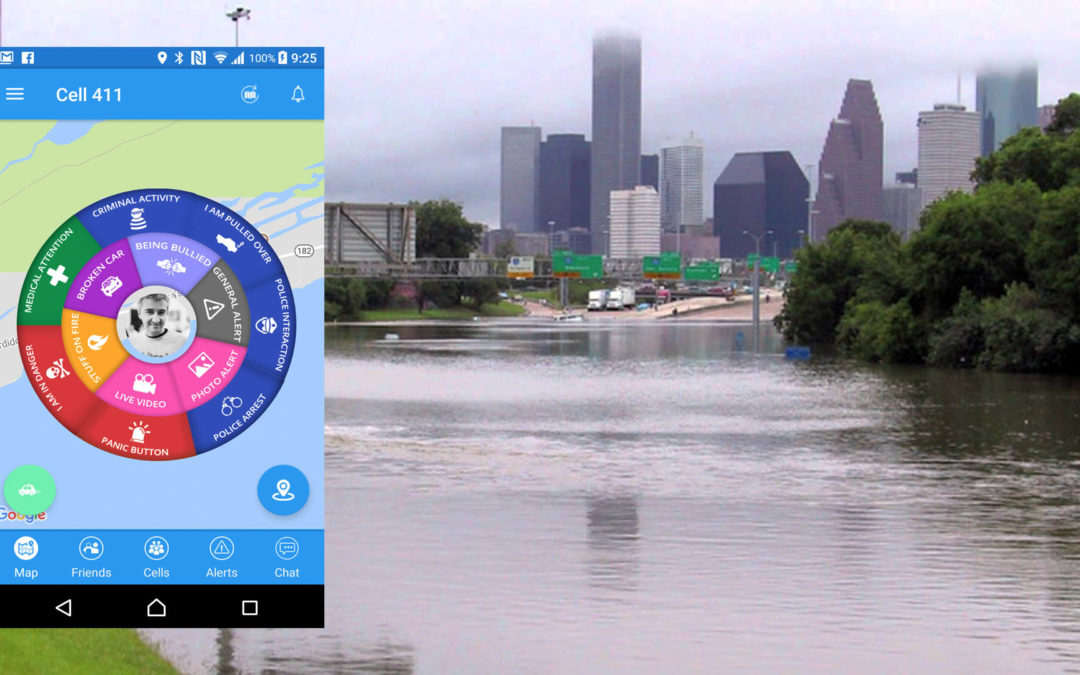 Mobile App Saves Lives During Hurricanes And Criminal Assaults